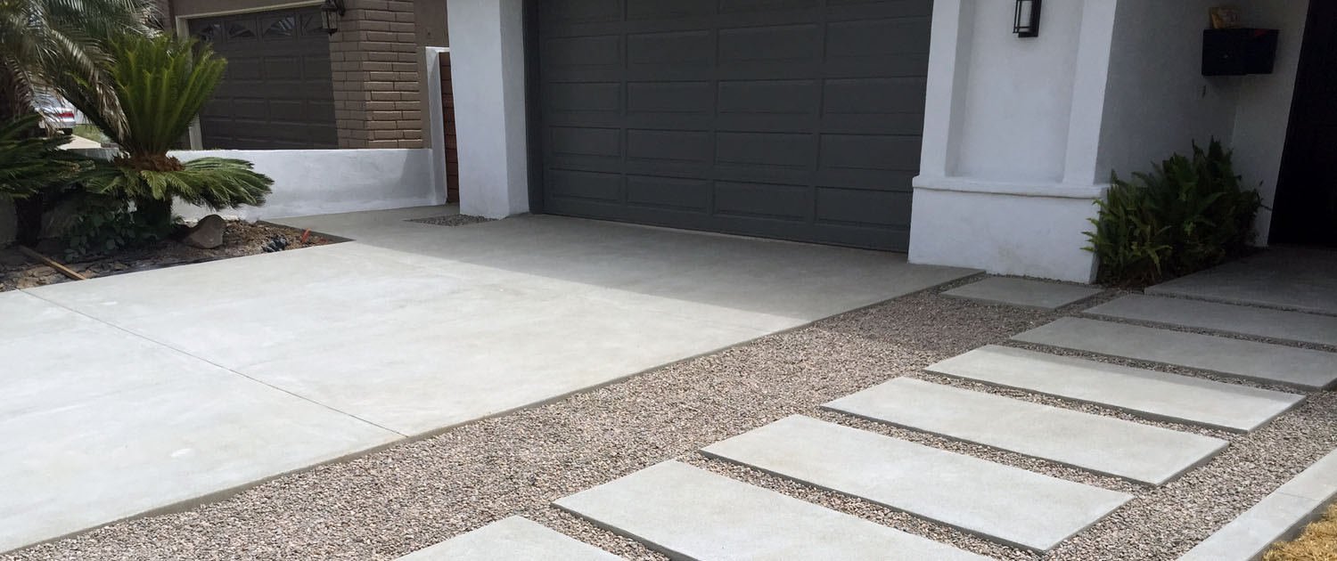 Gerber concrete services ready mix concrete and concrete for How to pour a concrete driveway
