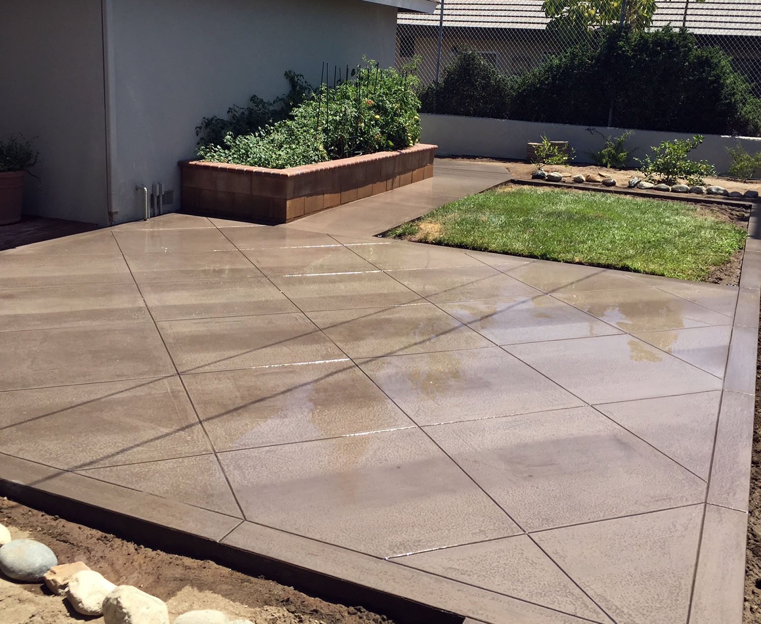 Concrete Patio Paving in Orange County, CA