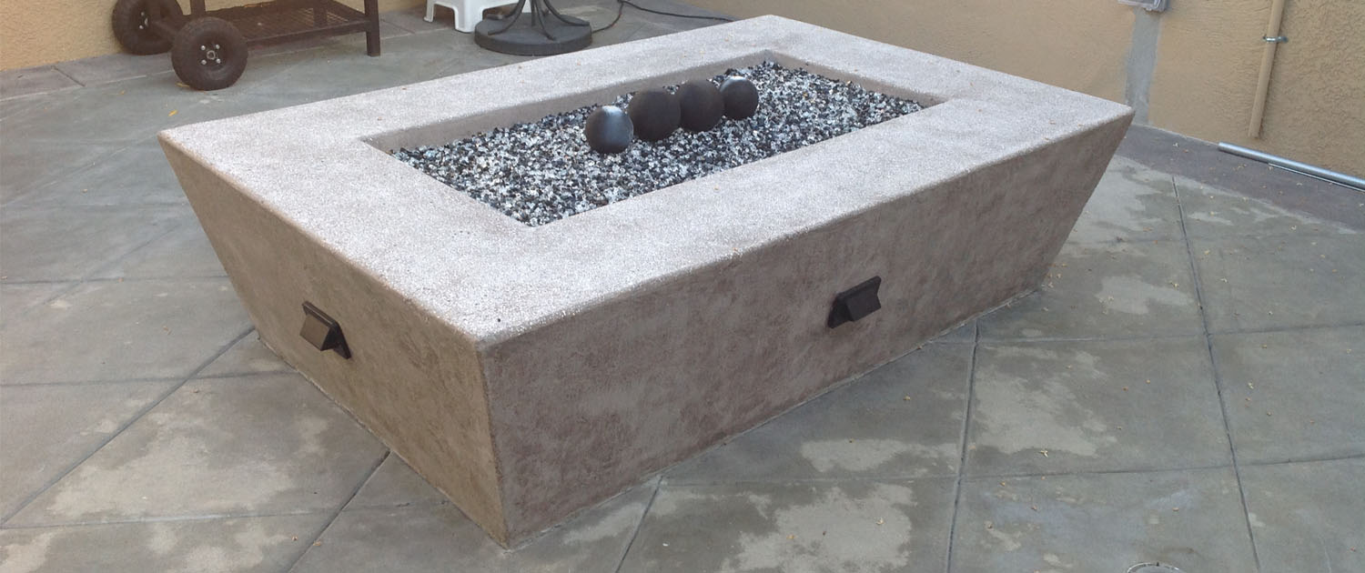 Concrete Slabs, Blocks and Fire Pits in Orange County, CA