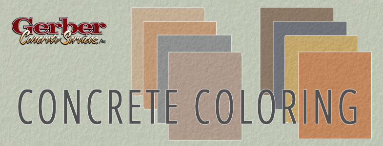 Colored Concrete for Patios, Driveways, Commercial Projects, and more!
