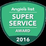 Gerber Concrete - Angie's List Super Service Award